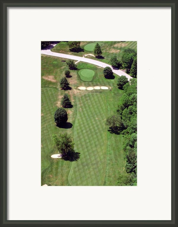 Philadelphia Cricket Club St Martins Golf Course 3rd Hole 415 West Willow Grove Ave Phila Pa 19118 Framed Print By Duncan Pearson