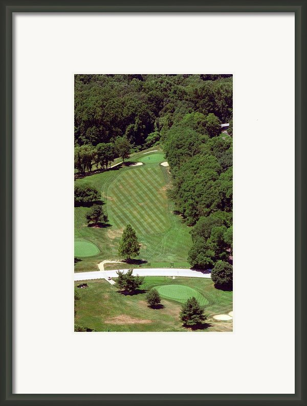 Philadelphia Cricket Club St Martins Golf Course 4th Hole 415 W Willow Grove Ave Phila Pa 19118 Framed Print By Duncan Pearson