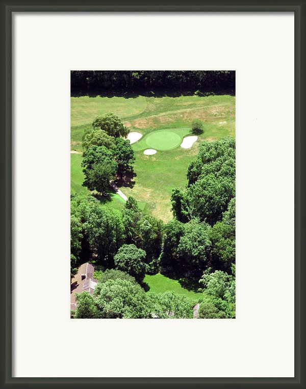 Philadelphia Cricket Club St Martins Golf Course 5th Hole 415 W Willow Grove Ave Phila Pa 19118 Framed Print By Duncan Pearson