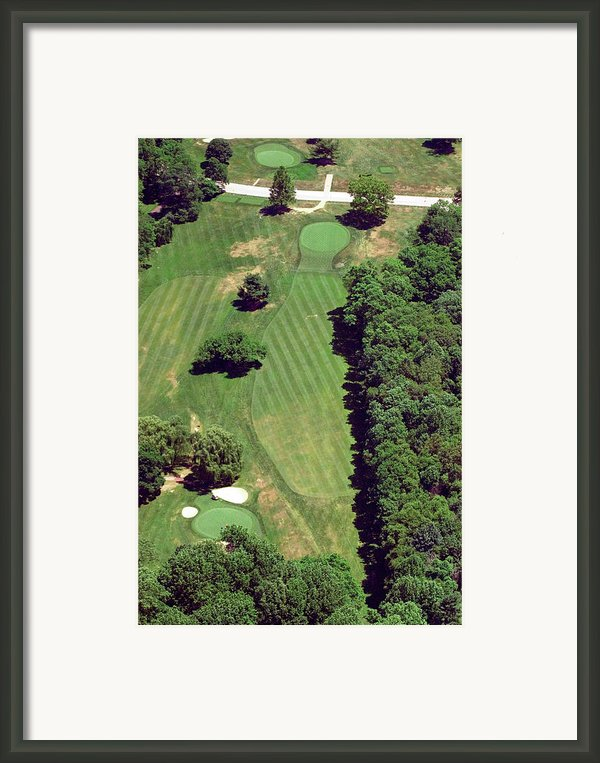 Philadelphia Cricket Club St Martins Golf Course 6th Hole 415 West Willow Grove Ave Phila Pa 191118 Framed Print By Duncan Pearson