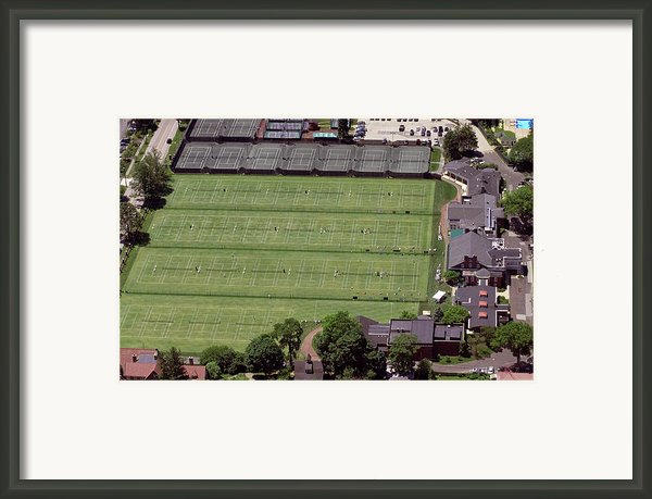 Philadelphia Cricket Club Us Jr International Grass Court Championships Framed Print By Duncan Pearson