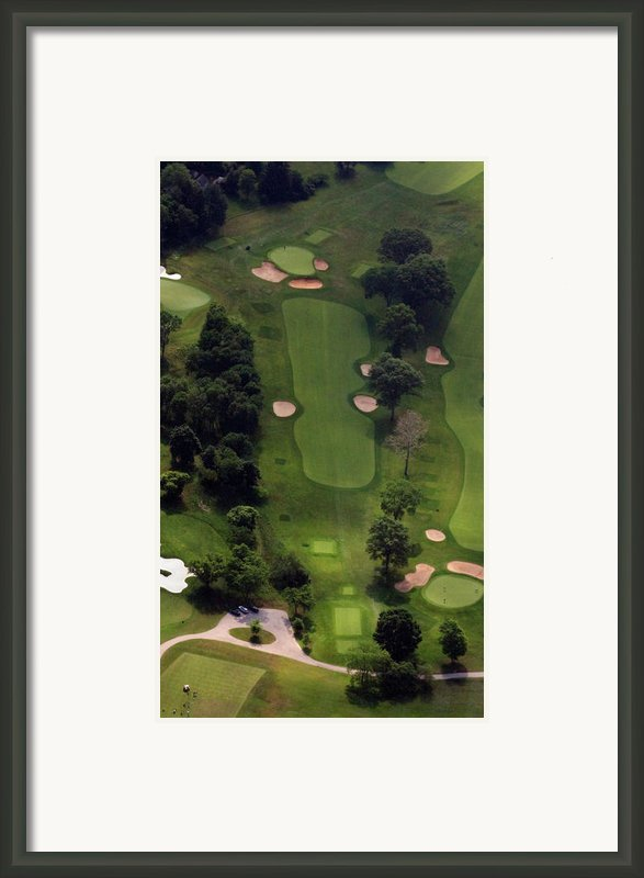Philadelphia Cricket Club Wissahickon Golf Course 5th Hole Framed Print By Duncan Pearson