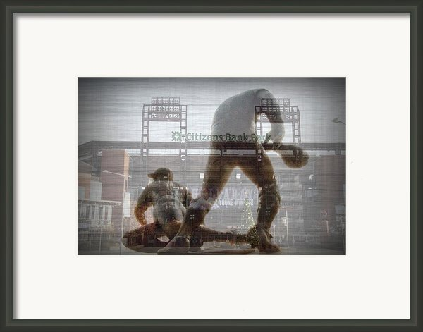 Philadelphia Phillies - Citizens Bank Park Framed Print By Bill Cannon