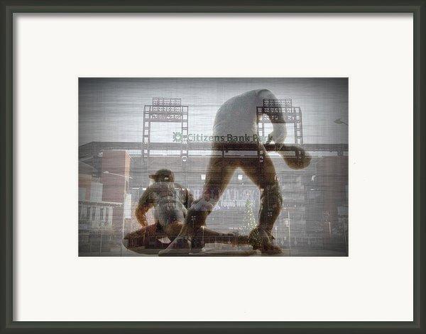 Philadelphia Phillies - Citizens Bank Park Framed Print By Bill Cannon