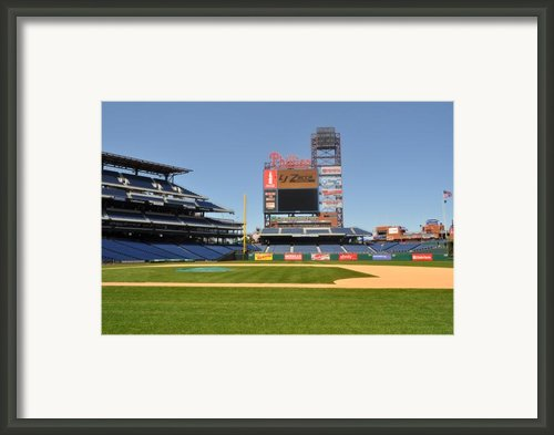 Philadelphia Phillies Stadium  Framed Print By Brynn Ditsche