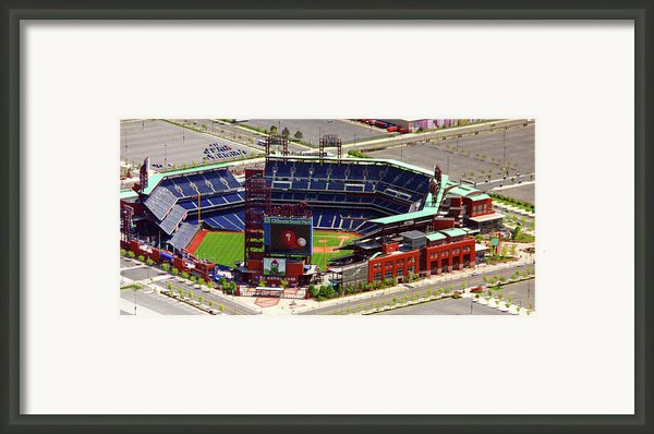 Phillies Citizens Bank Park Philadelphia Framed Print By Duncan Pearson