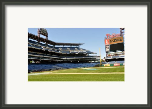 Phillies Stadium Framed Print By Brynn Ditsche