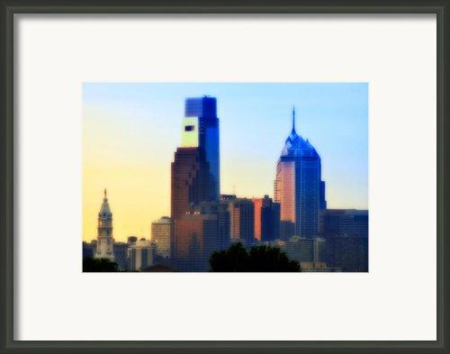 Philly Morning Framed Print By Bill Cannon