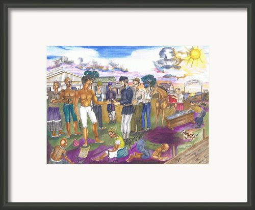 Phoebus Gateway To Freedom Framed Print By Everna Taylor