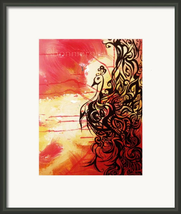 Phoenix 1 Framed Print By Bonnie Rose Parent