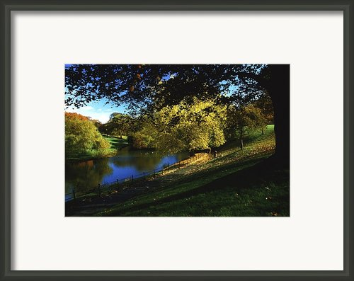 Phoenix Park, Dublin, Co Dublin, Ireland Framed Print By The Irish Image Collection