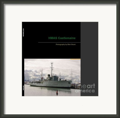 Photobook On Hmas Castlemaine Framed Print By Blair Stuart