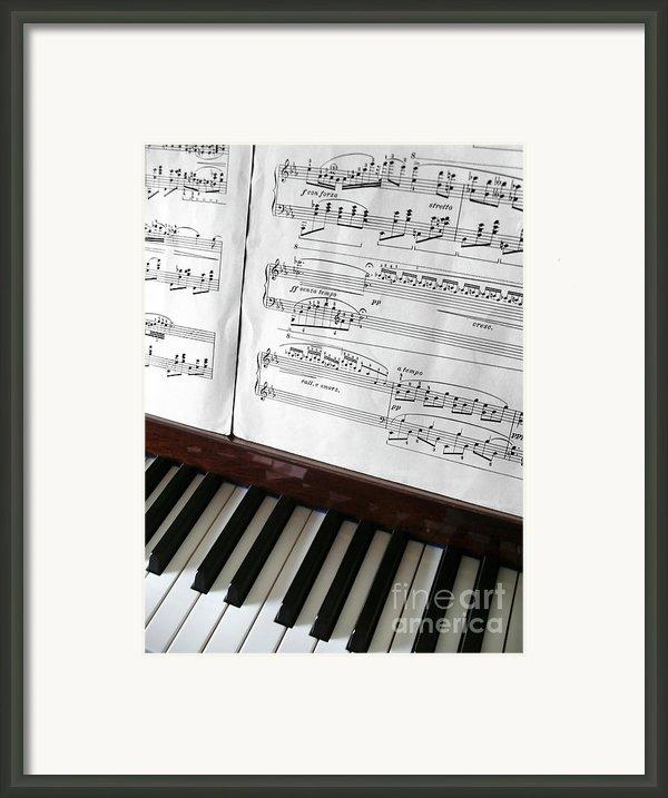 Piano Keys Framed Print By Carlos Caetano