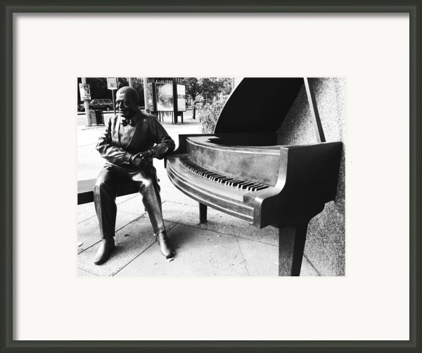 Piano Man Framed Print By Kevin Gilchrist