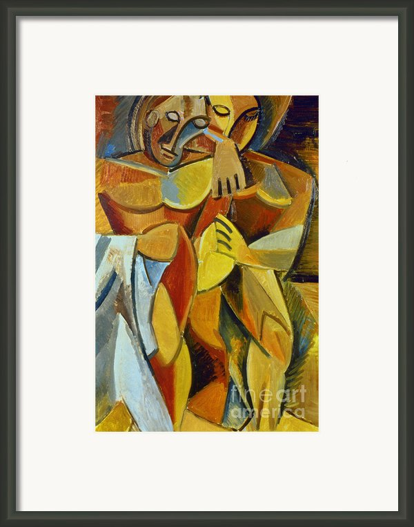 Picasso: Friendship, 1907 Framed Print By Granger