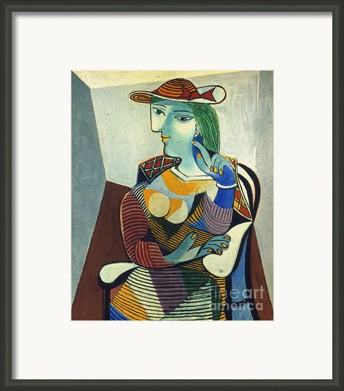 Picasso: Marie-therese Framed Print By Granger