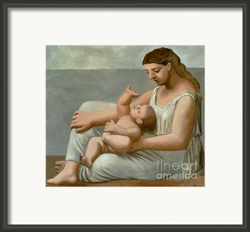 Picasso: Mother, 1921 Framed Print By Granger