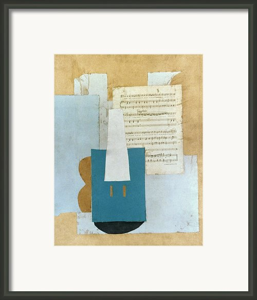 Picasso: Violin, 1912 Framed Print By Granger