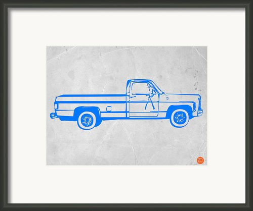 Pick Up Truck Framed Print By Irina  March