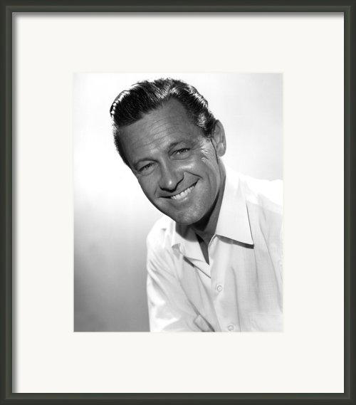 Picnic, William Holden, 1955 Framed Print By Everett