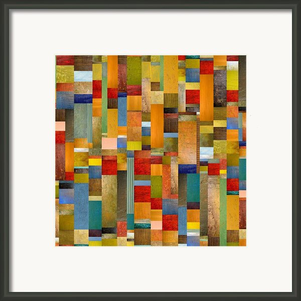 Pieces Parts Framed Print By Michelle Calkins