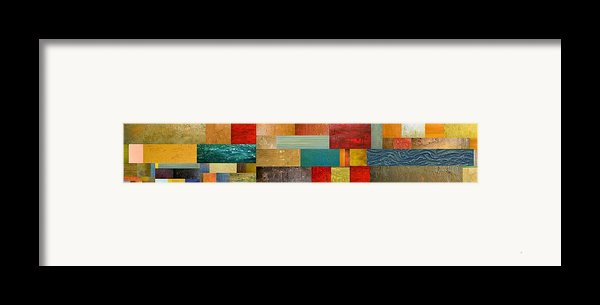 Pieces Project V Framed Print By Michelle Calkins