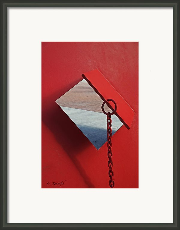 Pierced Framed Print By Cheri Randolph