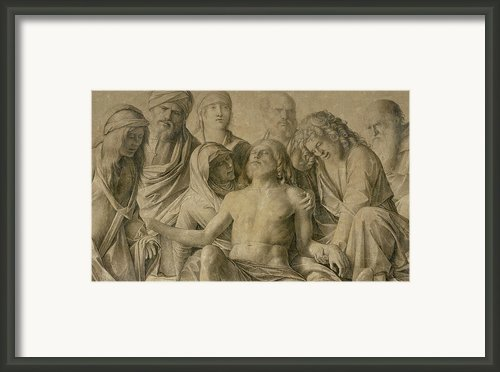 Pieta Framed Print By Giovanni Bellini