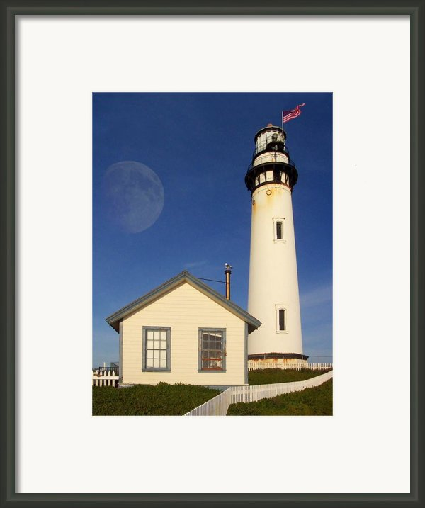 Pigeon Point Lighthouse Framed Print By Wingsdomain Art And Photography