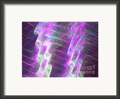 Pillars  Framed Print By Kim Sy Ok