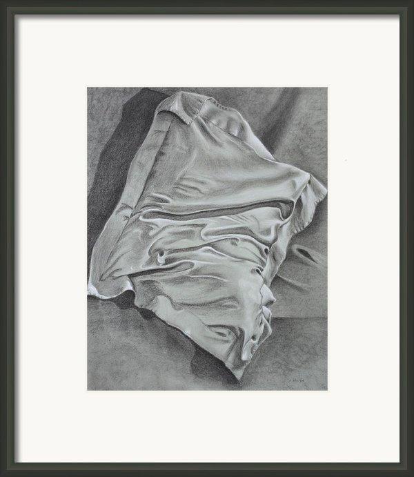 Pillow Talk Framed Print By Patsy Sharpe