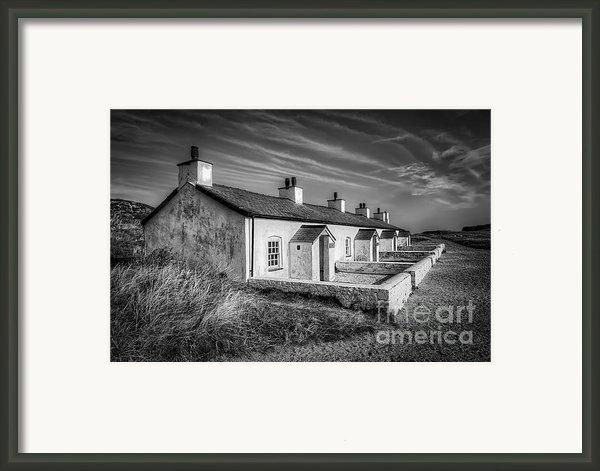 Pilot Cottages Framed Print By Adrian Evans