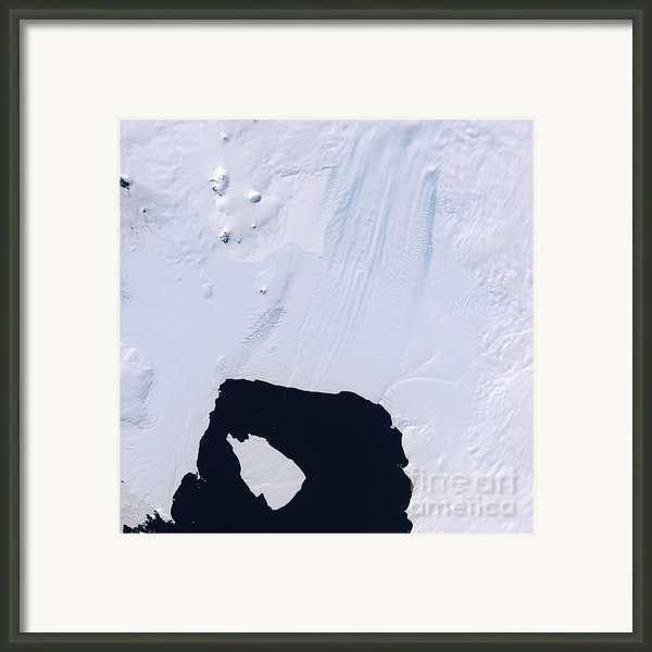 Pine Island Glacier Framed Print By Stocktrek Images