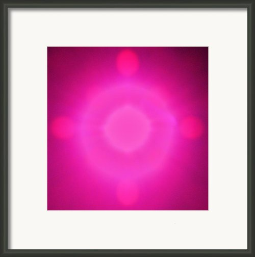 Pink Power Framed Print By Joshua Sunday