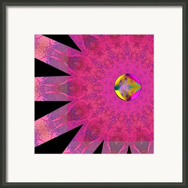 Pink Ribbon Of Hope Framed Print By Alec Drake