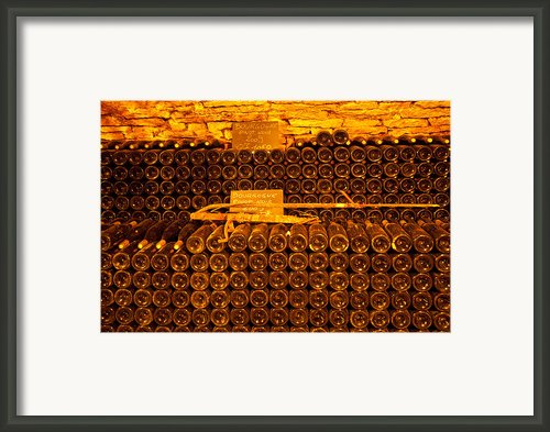 Pinot Noir-france Framed Print By John Galbo