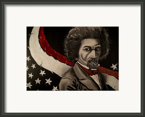 Pioneer Of Fredom Framed Print By David Marion Green