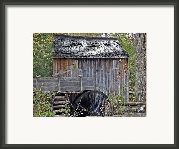 Pioneer Water Mill Framed Print By Digiart Diaries By Vicky B Fuller
