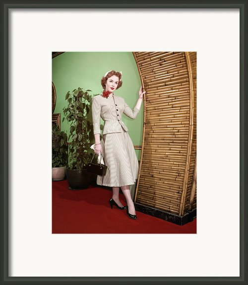 Piper Laurie, 1950s Framed Print By Everett
