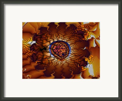 Pistil And Stamen Framed Print By Ron Bissett