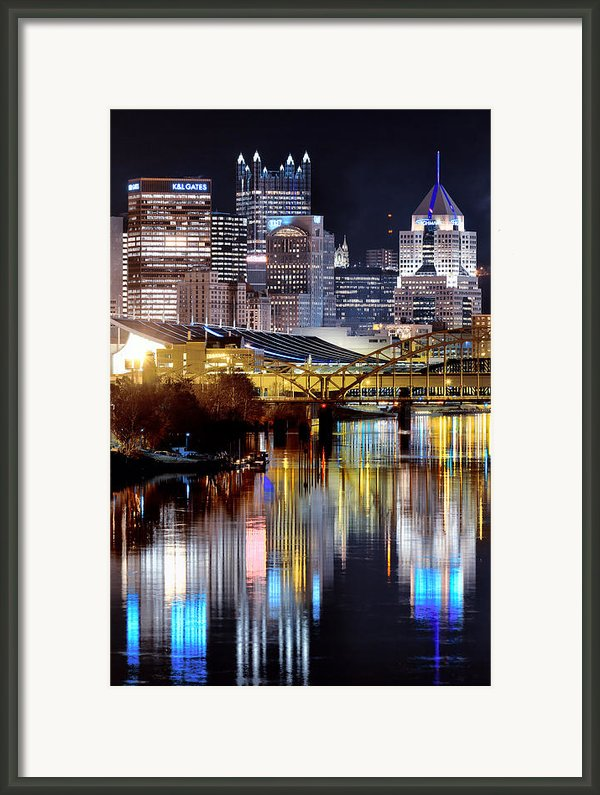 Pittsburgh 2 Framed Print By Emmanuel Panagiotakis