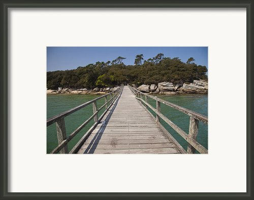 Plage Des Demoiselles Framed Print By Stephane Grossin
