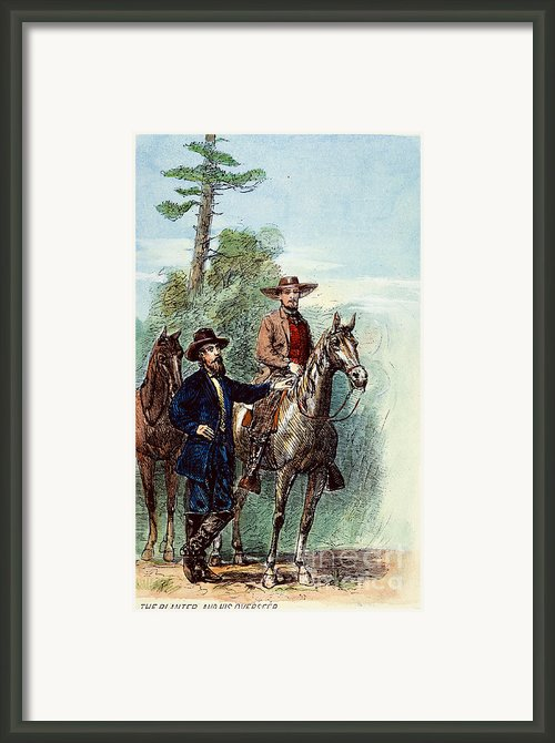 Plantation: Overseer, 1867 Framed Print By Granger