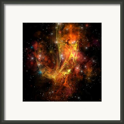 Plasma Drift Framed Print By Corey Ford