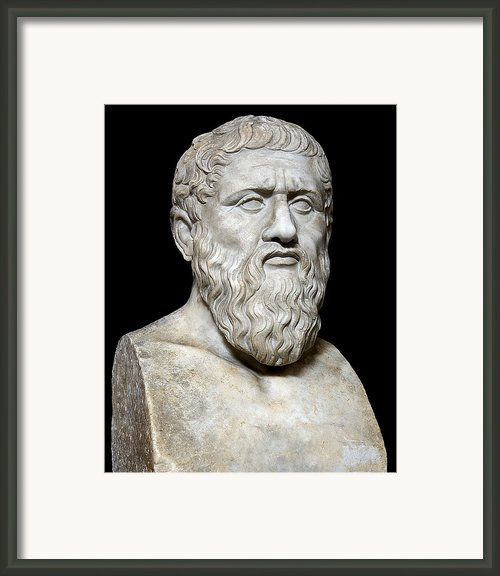 Plato Framed Print By Sheila Terry