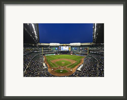 Play Ball Framed Print By Cj Schmit