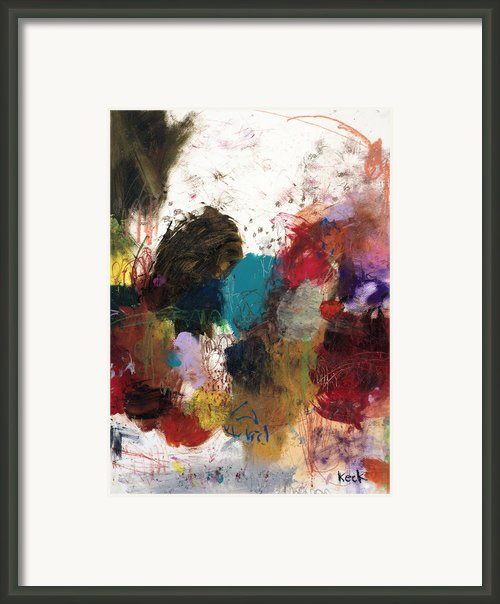 Playful Banter Framed Print By Michel  Keck