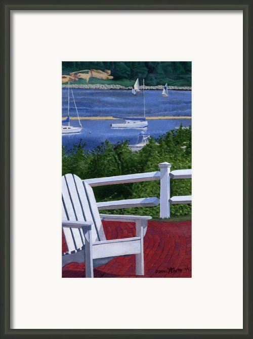 Pleasant Bay Cape Cod Framed Print By Dominic White