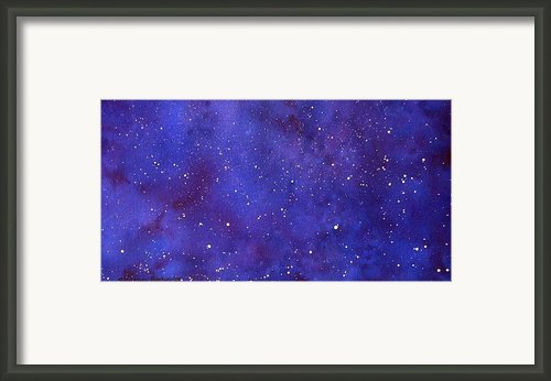 Pleiades Framed Print By Sharon Farber