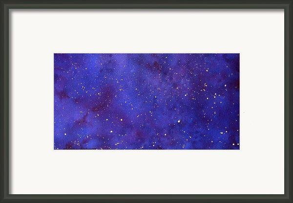 Pleiades Framed Print By Sharon Farber